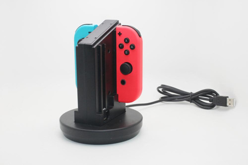 Colorful Joy Con Charging Station , Nintendo Switch Charging Station