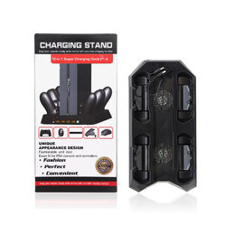 China PS4 Cooling Fan Gaming Charging Station / Vertical Charging Stand With Usb Hub factory